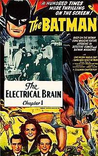 <i>Batman</i> (serial) 1943 film serial directed by Lambert Hillyer