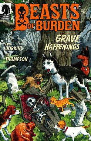 Beasts of Burden - Image: Beasts of burden cover