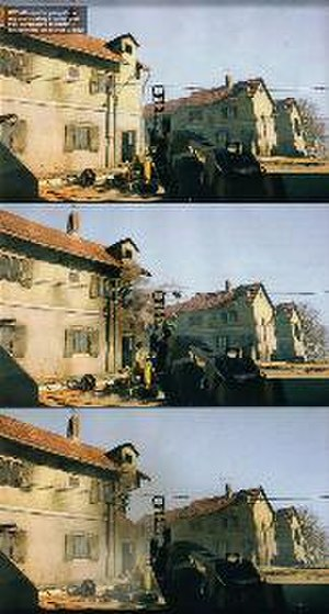 Battlefield: Bad Company - The player is able to use his weapon to damage the environment enabling the player to create ambush sites or take out a sniper's cover.