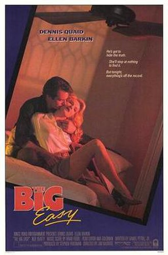 The Big Easy (film) - Theatrical release poster