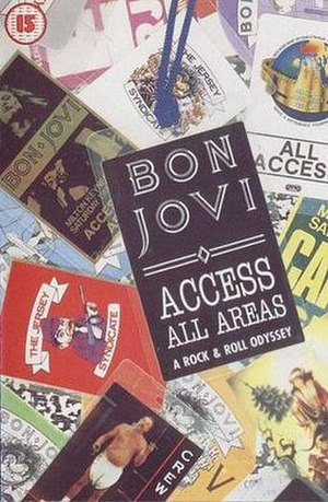Access All Areas: A Rock & Roll Odyssey - Image: Bon Jovi Access All Areas Front