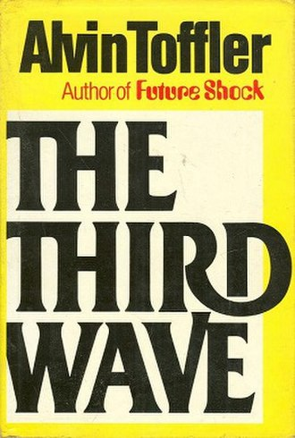 The Third Wave (Toffler book) - Paperback cover