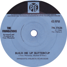 Build Me Up Buttercup by The Foundations UK vinyl Side-A.png