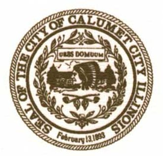 Calumet City, Illinois - Image: Calumetcityseal