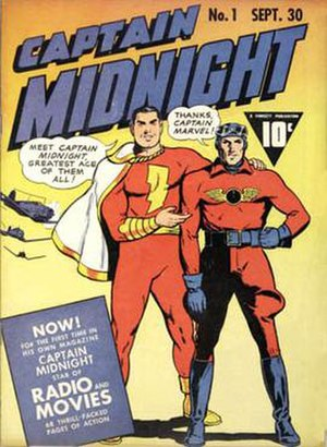 Captain Midnight - Image: Cap midnight 01 1942