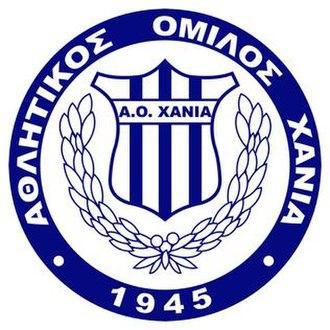 AO Chania F.C. - Image: Chaniafclogo