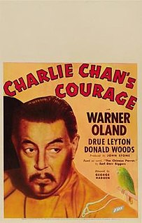 <i>Charlie Chans Courage</i> 1934 film by Eugene Forde