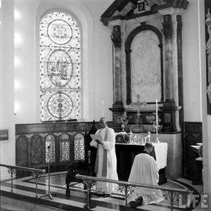Church of South India - RT.Rev.Dr.C. K. Jacob presiding the Church of South India Inaugural Service