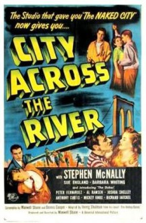 City Across the River - Theatrical release poster