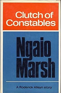 <i>Clutch of Constables</i> book by Ngaio Marsh