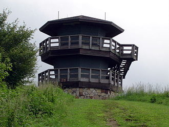 Wise County, Virginia - High Knob Observation Tower