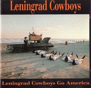 Leningrad Cowboys Go America (album) - Image: Cover leningrad cowboys go america