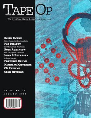 Tape Op - Image: Cover of Tape Op Issue 79 Sep Oct 2010
