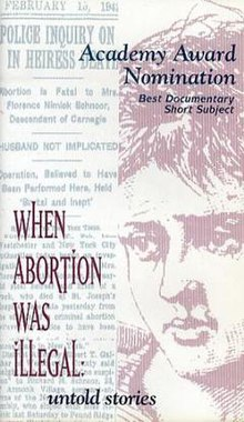 Cover of the movie When Abortion Was Illegal.jpg