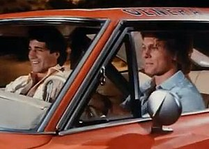 The Dukes of Hazzard - Christopher Mayer and Byron Cherry as Vance and Coy Duke, respectively