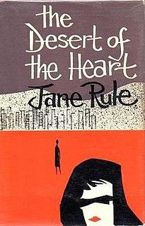 <i>Desert of the Heart</i> book by Jane Rule