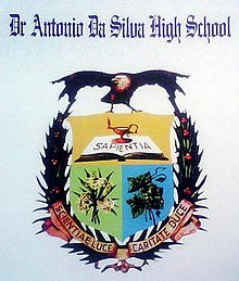 School shield and crest