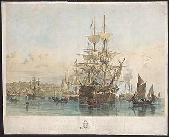 Highland and Island Emigration Society - Emigrants arriving in Australia. Sydney Cove, 1853