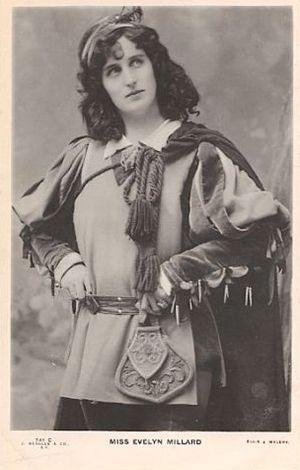 Evelyn Millard - Evelyn Millard as Lady Marian in Robin Hood (1906)