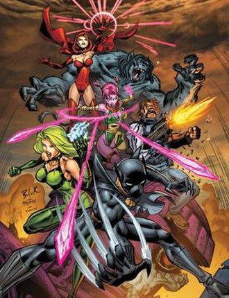 Exiles (Marvel Comics) - Image: Exiles (vol. 2) 1