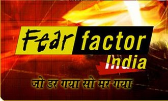 "Fear Factor India - A promotional logo image of ""Fear Factor India""."