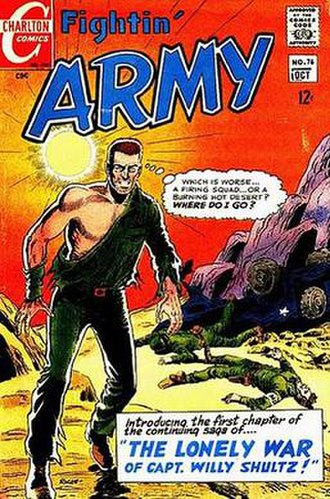 Charlton Comics - Image: Fightin Army 76
