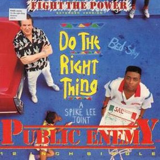 Fight the Power (Public Enemy song) - Image: Fightthepowersingle