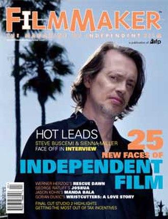 Filmmaker (magazine) - Image: Filmmaker Magazine cover