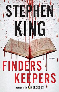 <i>Finders Keepers</i> (King novel) novel by Stephen King