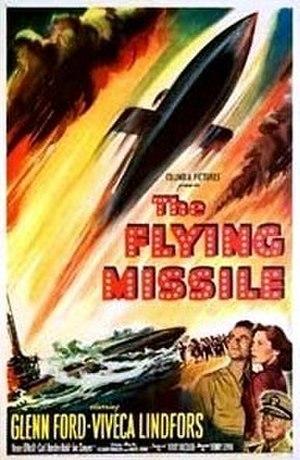 The Flying Missile - original film poster