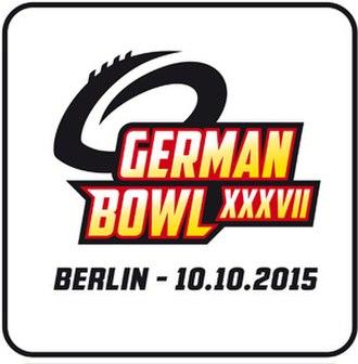 2015 German Football League - Image: German Bowl XXXVII