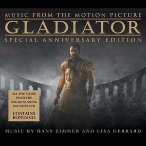 Gladiator (soundtrack) - Image: Gladiator Special Anniversary Edition