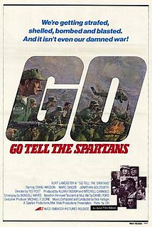 <i>Go Tell the Spartans</i> 1978 film directed by Ted Post