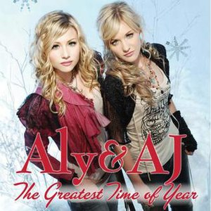 Greatest Time of Year - Image: Greatest Time of Year (Aly & AJ single cover art)