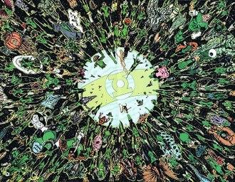 Green Lantern Corps - The Green Lantern Corps. Art by Alex Ross.