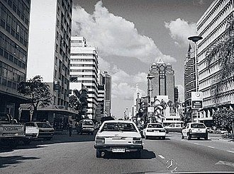 Harare - Image: Harare Downtown