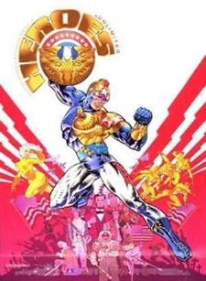 Heroes Unlimited - Image: Heroes Unlimited 2nd ed RPG 1998