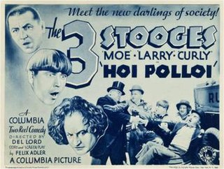 <i>Hoi Polloi</i> (1935 film) 1935 film, part of the Three Stooges series directed by Del Lord
