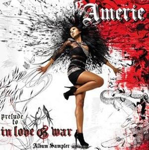 In Love & War (Amerie album) - Image: In Love & War Album Sampler