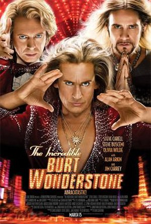 The Incredible Burt Wonderstone - Theatrical release poster