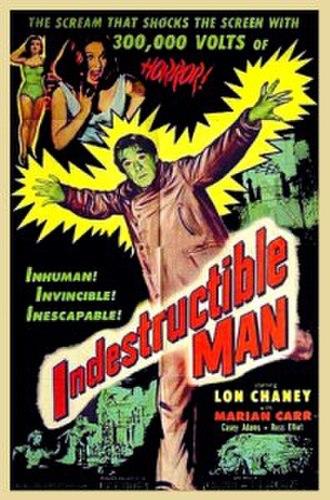 Indestructible Man - Promotional film poster