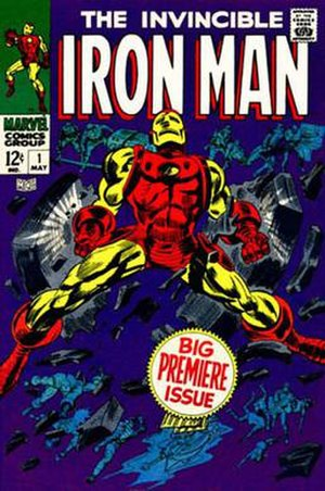 Iron Man's armor - Cover of Iron Man vol. 1, 1 (May 1968). Art by Gene Colan and Mike Esposito.