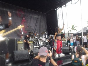 Wicked Wisdom - Wicked Wisdom Performing At Ozzfest 2005 In West Palm Beach, FL