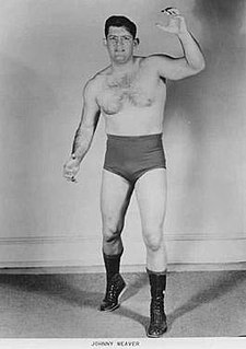 Johnny Weaver American professional wrestler