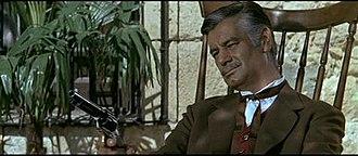 José Suárez - José Suárez in the Spaghetti-western Texas, addio (1966).