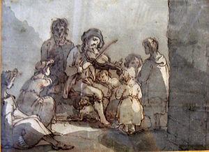 Joseph Barney - JA Blind Musician (1780s)