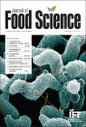 Journal of Food Science - Image: Journal of Food Science