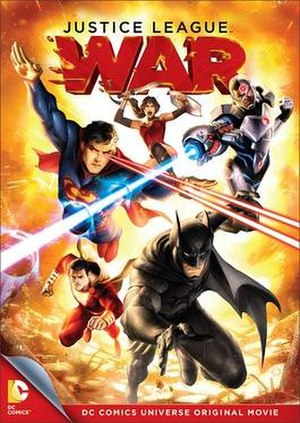 Justice League: War - Home video release cover art