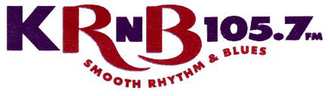 KRNB - The first KRNB logo used 1996-2003.