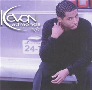 24/7 (Kevon Edmonds album) - Image: Kevon Edmonds 24 7 album cover